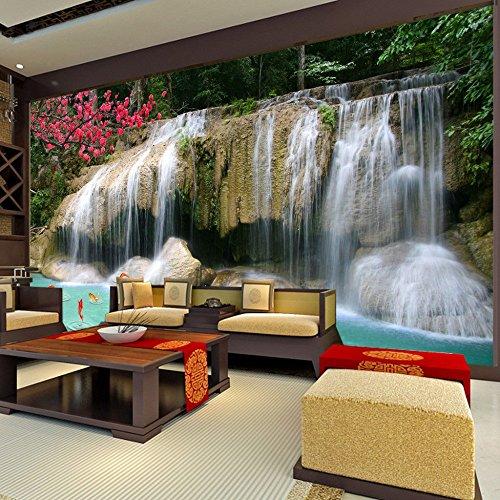Yosot Costumbre Mural Papel Pintado 3D Paisaje No Tejido Cascada Paisaje Decoraciones De Pared Cocina Cuadros Modernos Para Paredes-140Cmx100Cm