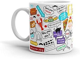 Giftmate Ceramic Friends Tv Series Print Coffee Mug