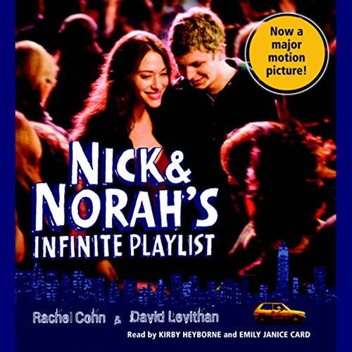 Nick & Norah's Infinite Playlist  audiobook cover art