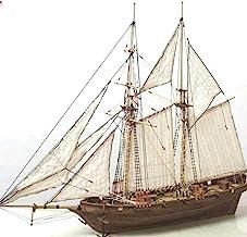 ALBEFY Modelo de Velero de Madera, Kit de Montaje de Barco de Bricolaje, Modelo a Escala de Velero de Madera Clásico 400 * 150 * 270 mm