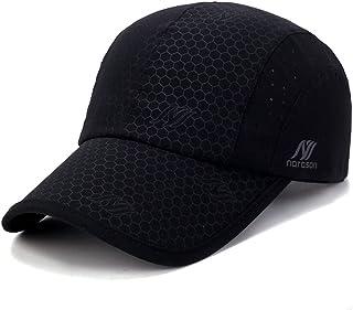 c93d1ba186224f Sport Cap,Soft Brim Lightweight Waterproof Runn Hat Breathable Baseball Cap  Quick Dry Mesh Sport