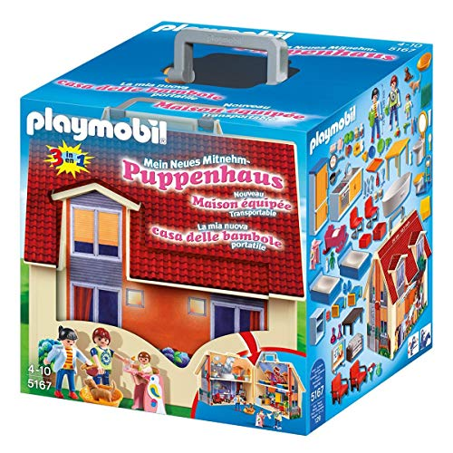 Product Image of the PLAYMOBIL Take Along Modern Doll House