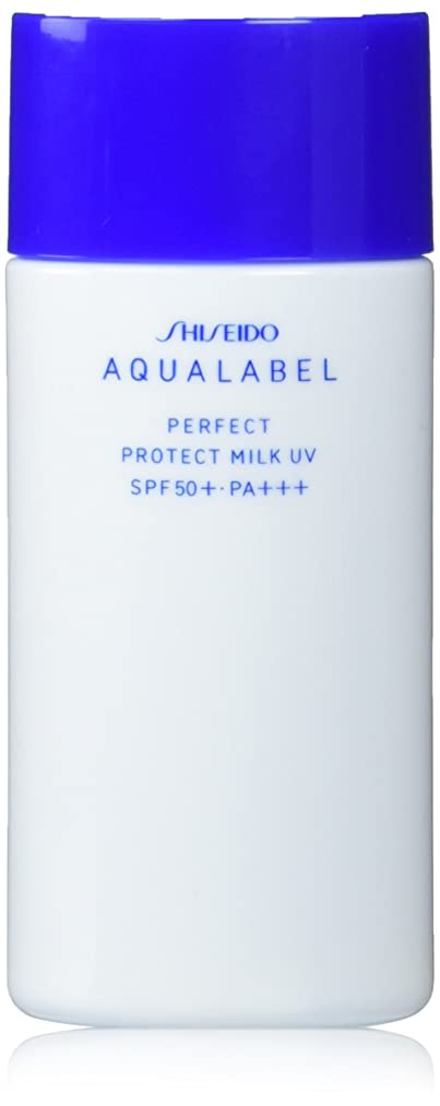 一部我慢する種をまくアクアレーベル パーフェクトプロテクトミルクUV (日やけ止め用美容液) (SPF50+?PA+++) 45mL