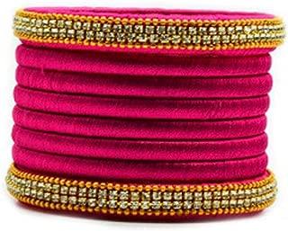 pink thread bangles