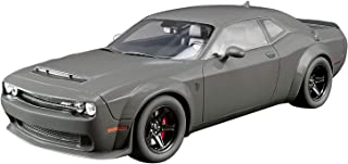 2018 Dodge Challenger SRT Demon Destroyer Gray USA Exclusive Series 1/18 Model Car by GT Spirit for Acme US007