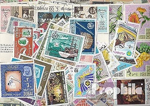 Dubai 200 différents timbres (Timbres pour les collectionneurs)