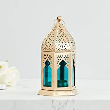 Home Centre Moksha Hanging Lantern - Blue