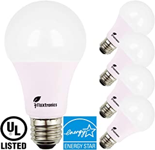Energy Star Listed A19 ~ A21 LED Light Bulb, 1600 Lumens, 100 Watt Equivalent, 5000K Daylight, 15W = 100W Light Bulb, Non Dimmable, E26 LED Bulb, UL-Listed, 3 Years Warranty, 4 Pack