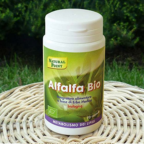 NATURAL POINT - ALFALFA BIO (ERBA MEDICA) 70 CPS