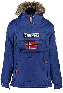 Geographical Norway Parka BOOMERANG hombre AZUL ELÉCTRICO talla S