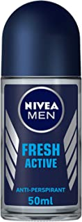 NIVEA, MEN, Deodorant, Fresh Active, Roll-On, 50ml
