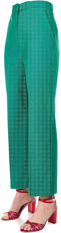 PINKO Women's 1B13MH7436V23 Green Polyester Pants