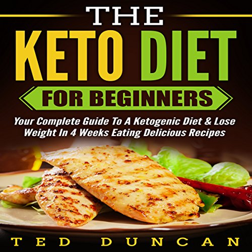 The Keto Diet for Beginners audiobook cover art