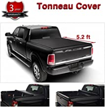 Yumy Black Soft Roll-Up Tonneau Cover Assembly for 15-18 Chevrolet Colorado/GMC Canyon 5.2 FT Fleetside Bed Truck Cargo Bed Cover