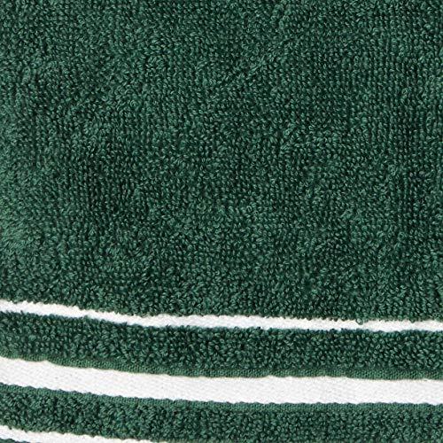[ラコステ]TOWEL[公式]ミニマルボーダーハンカチタオルメンズグリーンEU000(FREEサイズ)
