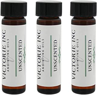 Unscented Anointing Oil 1/4 oz. Package of 3