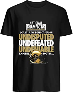 UCF 2017 National Champions-Undefeated Shirt T shirt Hoodie for Men Women Unisex
