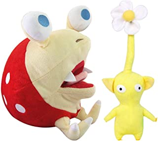 Wanna2017 Set of 2 Pikmin Bulborb Chappy Plush Doll Figure Soft Toy Gift