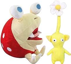 Wanna2017 Set of 2 Pikmin Bulborb Chappy Plush Doll Figure Soft Toy Gift