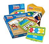 hand2mind VersaTiles Math an Engaging Puzzle Game Kit for Kids (Grade 2+) - Addition, Subtraction, Foundation of Multiplication, and Geometry | 6 Student Activity Books and 1 Teacher Guide