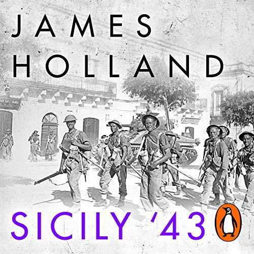 Sicily '43 audiobook cover art