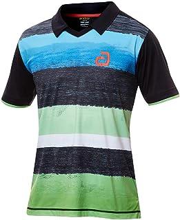 andro(アンドロ) アンドロ デヴィリン BK/グリーン タッキュウゲームシャツ (302151)