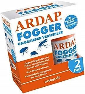 ARDAP Fogger - Effektiver Vernebler zur Ungeziefer- & Flohbekämpfung für Haushalt & Tierumgebung - für Räume bis 30m² - Wirksamer Schutz für bis zu 6 Monate