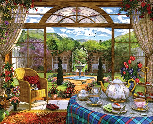 Springbok's 1000 Piece Jigsaw Puzzle The Conservatory, Multi