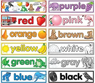 Teacher Created Resources Colors Headliners (4482)
