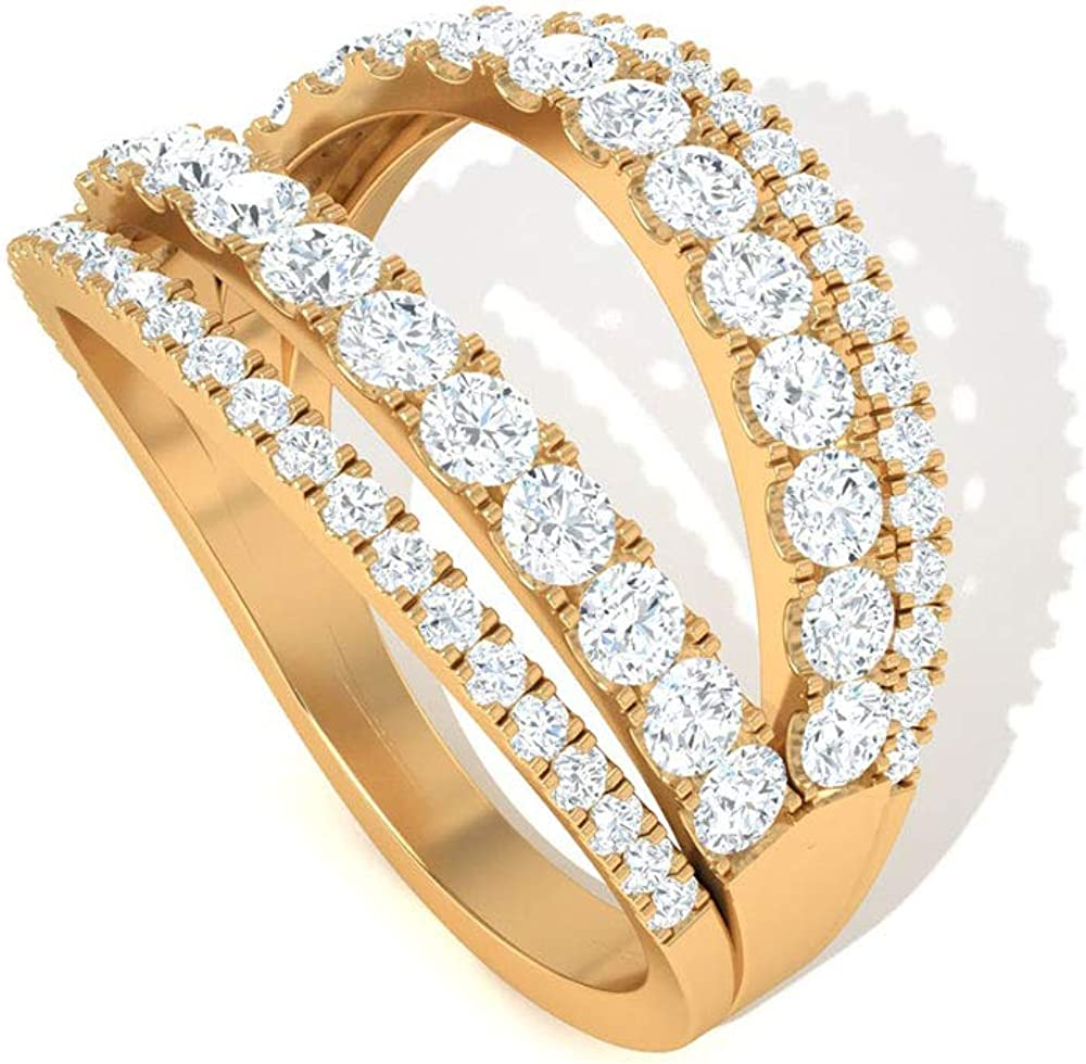 Unique 1.15 CT Open SGL Certified Wide 新品■送料無料■ Ring 日本最大級の品揃え Diamond Engagement