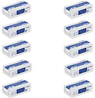 【10袋セット】エルヴェール ペーパータオル エコスマート シングル 中判 703240(200枚入り) お手拭き