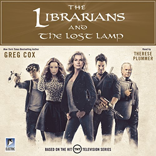The Librarians and the Lost Lamp audiobook cover art