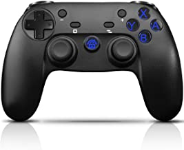 CHEREEKI Mando Inalámbrico, Controlador para Nintendo Switch Mando Switch, Mando de Juegos con Bluetooth/Gyro Axis/Turbo/Dual Shock