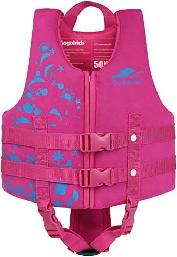 Gogokids Kids Swim Vest Life Jacket - Boys Girls Floation Swimsuit Buoyancy Swimwear