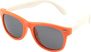 CGID Soft Rubber Kids Polarized Sunglasses for Children...
