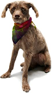 "Kess InHouse Alison Coxon""Dance"" Pet Bandana and Scarf, 28 by 20 by 20-Inch"