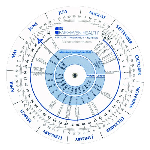 Pregnancy Wheel and Ovulation Calendar: Ideal for Patients, Nurses, Doctors, and Midwives