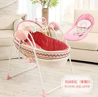 MYMAO Newborn crib  basket  baby out the basket  car portable sleeping basket  straw basket  baby cradle bed A