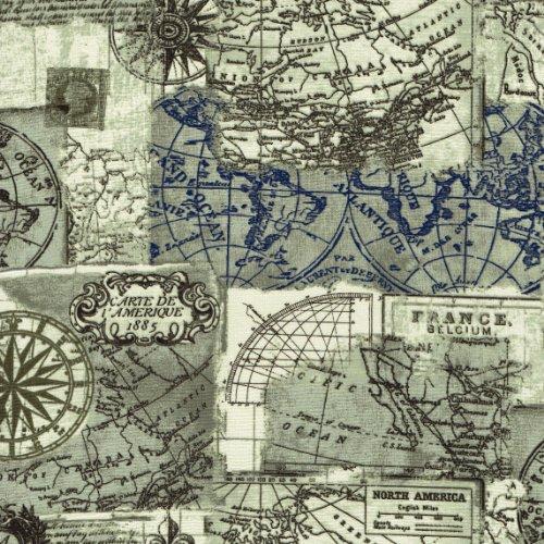 Landkarte Ein Tolles Stoffmotiv Online Auf Stoff123 De