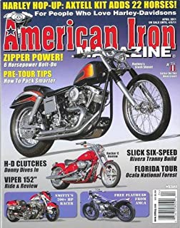 American Iron - April 2011: Harley Davidson Magazine!