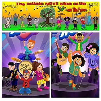 Dream the Music Note Kids Club