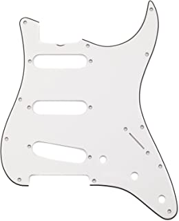 Fender Pure Vintage Pickguard, '65 Stratocaster with Truss Rod Notch, 11-Hole - Eggshell 3-Ply