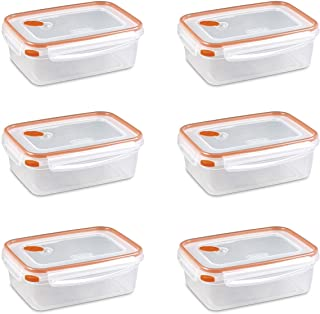 Sterilite 03221106 8.3 Cups Rectangle Ultra-Seal™ Container