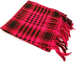 Arabic Shemagh Scarf - Red