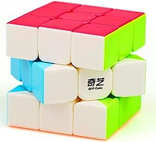 cuberspeed QiYi Warrior W 3x3 Stickerless Speed Cube Puzzle Warrior W 3x3x3 Stickerless Cube