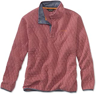 Orvis Trout Bum Quilted Snap Sweatshirt/Trout Bum Quilted Snap Sweatshirt