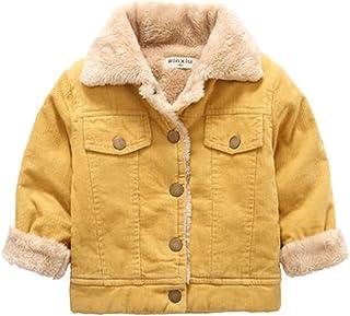 BAISNOW ボーイズコート デニム綿入れコート 子供服 キーズ綿入れ 冬の新型 厚手のコート 保温
