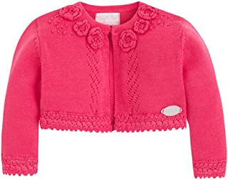Mayoral French Pink Floral Cardigan