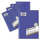 AVERY Zweckform 307-5 - Registro de contador para cajas abiertas (A5, recomendado por ases...
