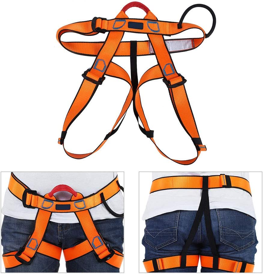 Rappelling Belt Kansas City Mall Direct stock discount Stable Safety Rock Climbing Half Bod